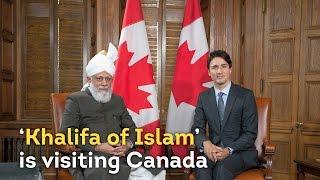 'Khalifa of Islam' Ahmadiyya visits Canadian Parliament - SHORT