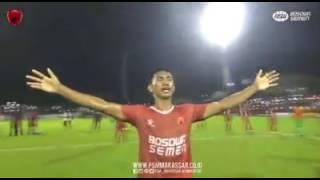 psm makassar vs arema fc anthem di pimpim oleh hamka hamza merinding