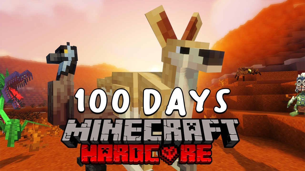 I Survived 100 Days In Australia On Minecraft Heres What Happened