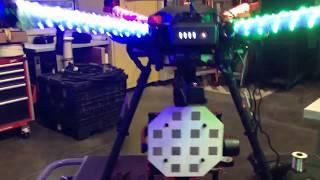 DJI Matrice M600 Phased Array Radar Drone RGB LED HD FPV