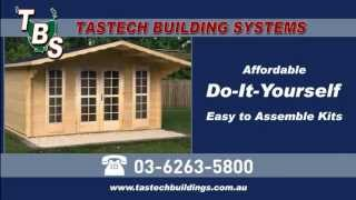 Tastech Building Systems - Log Cabins & Structures Advert