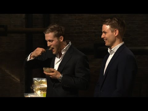 Peter Jones asks an entrepreneur to eat dog food - Dragons' Den: Series 12 Episode 2 - BBC Two