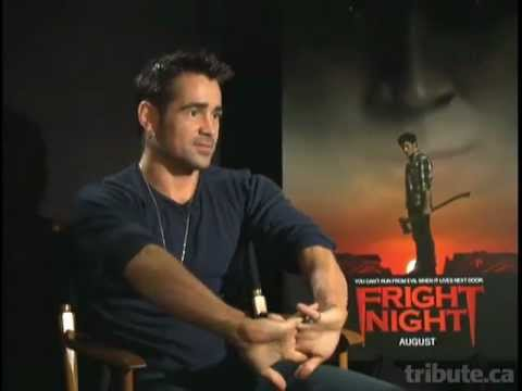 Colin Farrell - Fright Night Interview HD