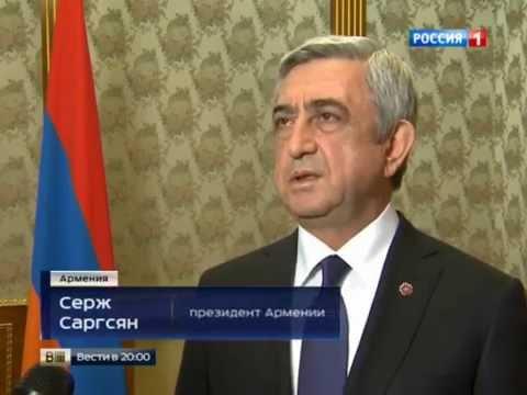 100 лет трагедии: в Армении прошла массовая канонизация