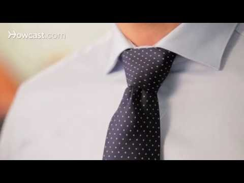How to Tie a Windsor Knot | Men's Fashion