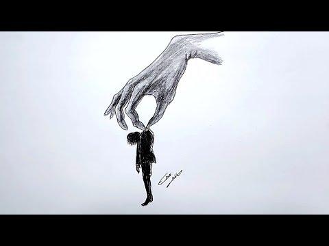 رسم سهل بالرصاص سلسلة الرسوم التعبيرية 20 Youtube