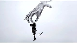 رسم سهل بالرصاص .. سلسلة الرسوم التعبيرية #20