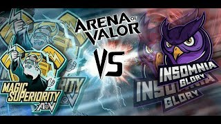 Magic Superiority vs knights of valor  - Arena of Valor