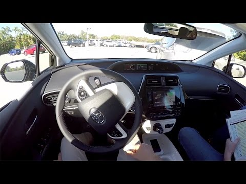 2016 Toyota Prius POV Self Parking Demonstration