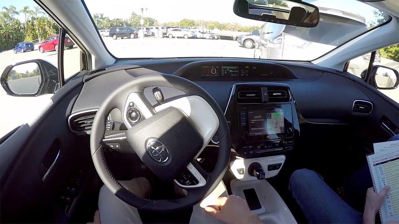 2016 Toyota Prius Pov Self Parking Demonstration