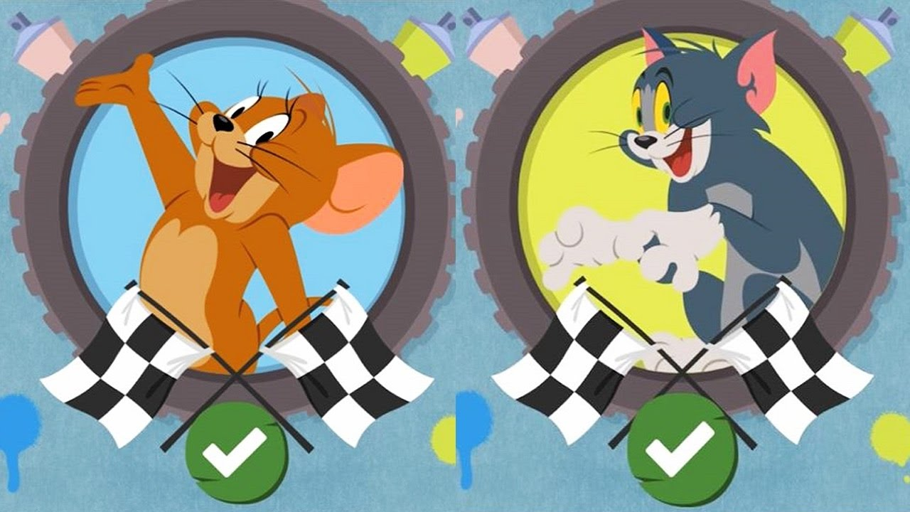 Tom And Jerry Boomerang Make And Race Super Race Cartoon Racing Game Youtube