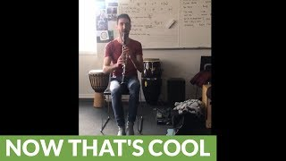 Dude crushes 'Jingle Bells' solo on clarinet