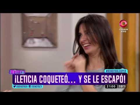 ¡Leticia Coqueteó... Y Se Le Escapó!