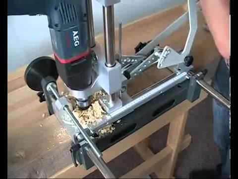 Dispositif portatif de mortaisage de charpente - HMDIFFUSION