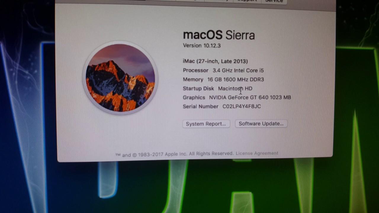 HP Pro 6300 PC Mac OS X Sierra Hackintosh !