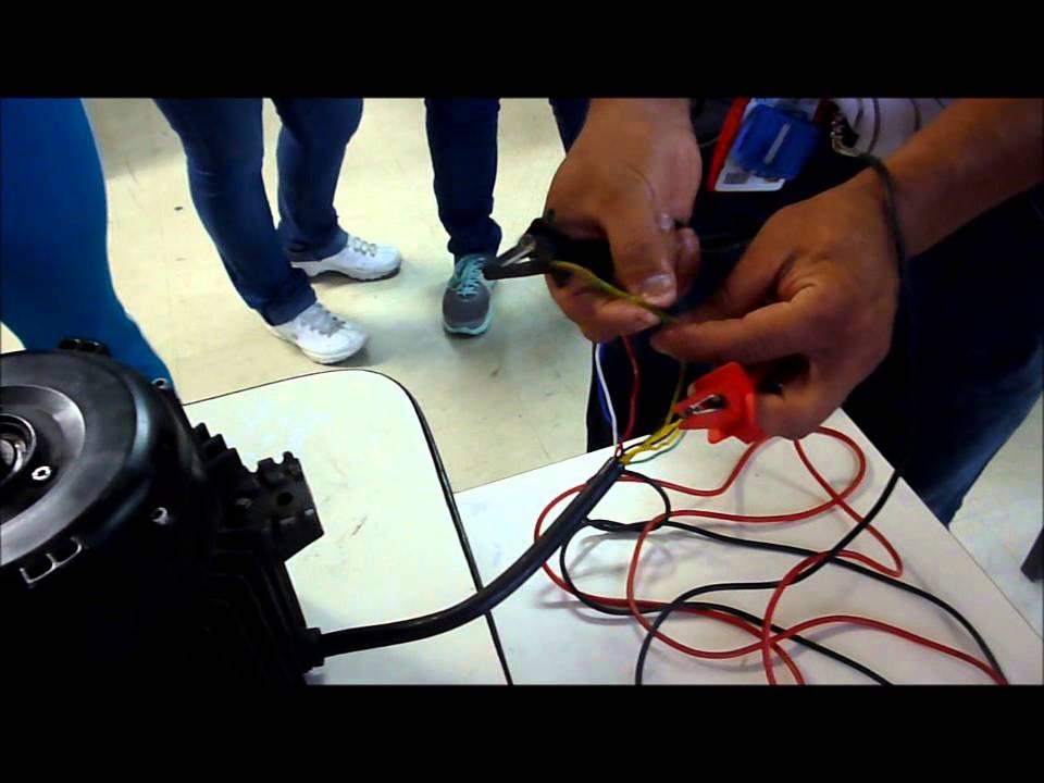 prueba de bobinado de motor eléctrico para diabetes