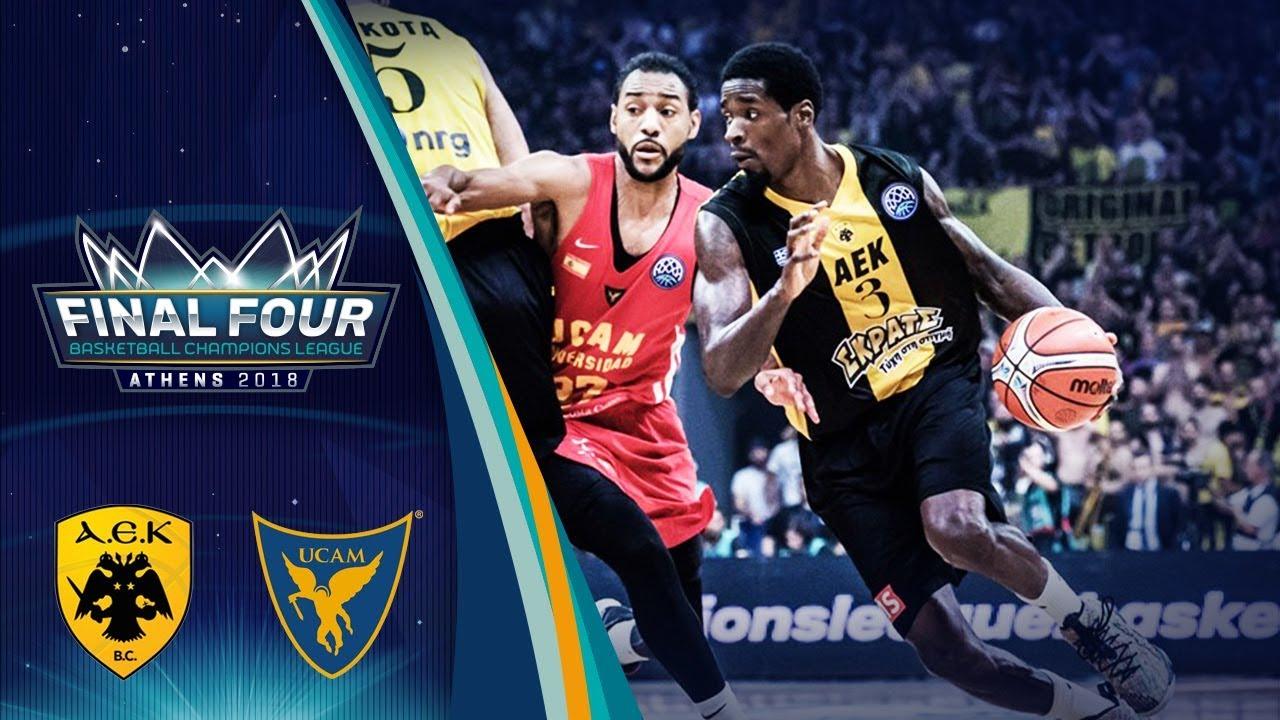 AEK v UCAM Murcia - Semi-Finals - Highlights - Basketball Champions League 2017