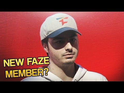NEW FAZE CLAN MEMBER! (FaZe Gunless)
