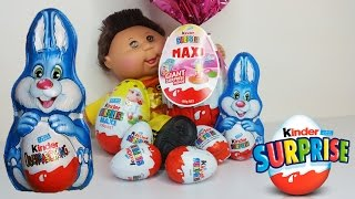 Kinder Surprise Maxi, Giant Maxi & Bunny Opening