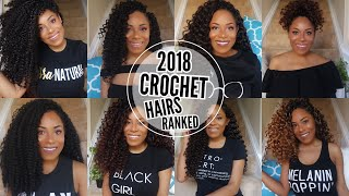 ULTIMATE 2018 CROCHET BRAIDS RANKED| FREETRESS , LULUTRESS , TRENDY TRESSES, AND MORE| LIA LAVON