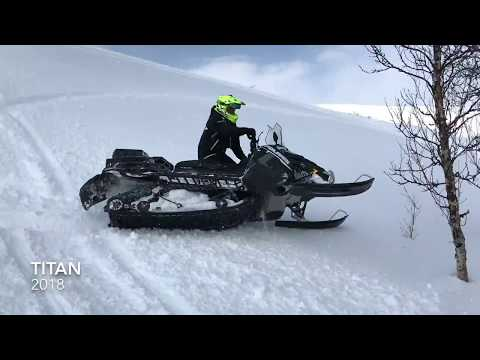Tor Arne Rygh with Polaris 800 Titan Adventure 155''' 2018