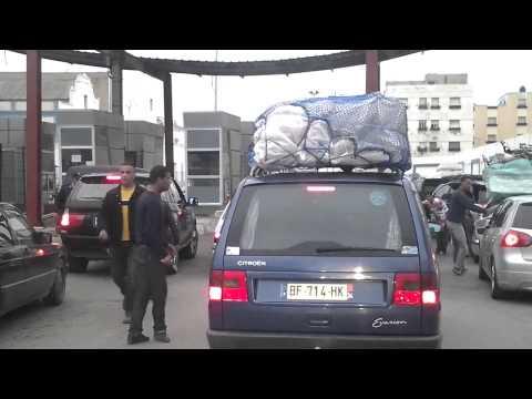 Llegada a la frontera marroqui (Marruecos 2013 - Fueradelonegro4x4.com - )