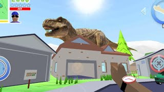 I Found T Rex In Dude Theft War Funny Moments