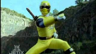 Power Rangers Dino Thunder - Dino Thunder and Ninja Storm Teamup Morph