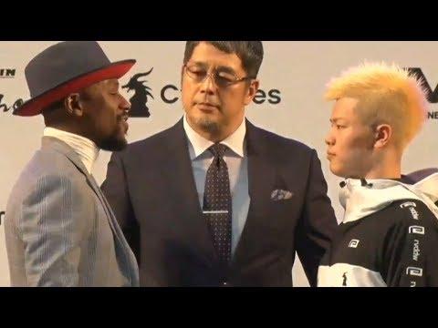 RIZIN 14   Floyd Mayweather vs Tenshin Nasukawa   Final Face 2 Face