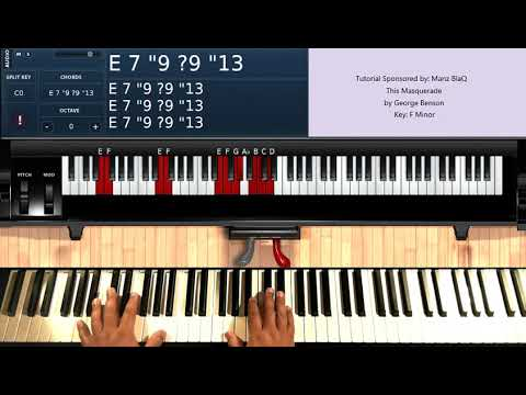 This Masquerade (by George Benson) - Piano Tutorial
