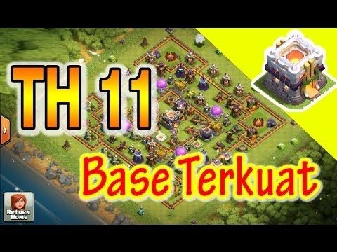 Base Coc Th 11 Terkuat Di Dunia 3