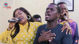 Grace Ashy's Powerful Live Worship With Zionfelix