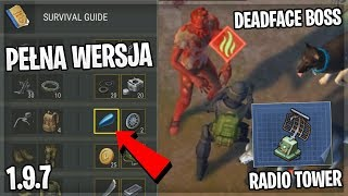UPDATE 1.9.7. KUPUJĘ SURVIVAL GUIDE, DEADFACE BOSS, RADIO TOWER - Last Day On Earth Survival