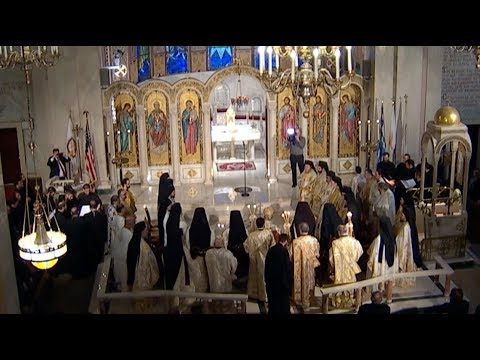 Orthros from the Ordination of Metropolitan Nathanael of Chicago