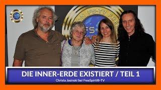 Christa Jasinski bei Free Spirit®-TV - Inner-Erde existiert Teil 1
