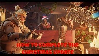 How To Complete The Gilded Gifts Update | Sea of Thieves