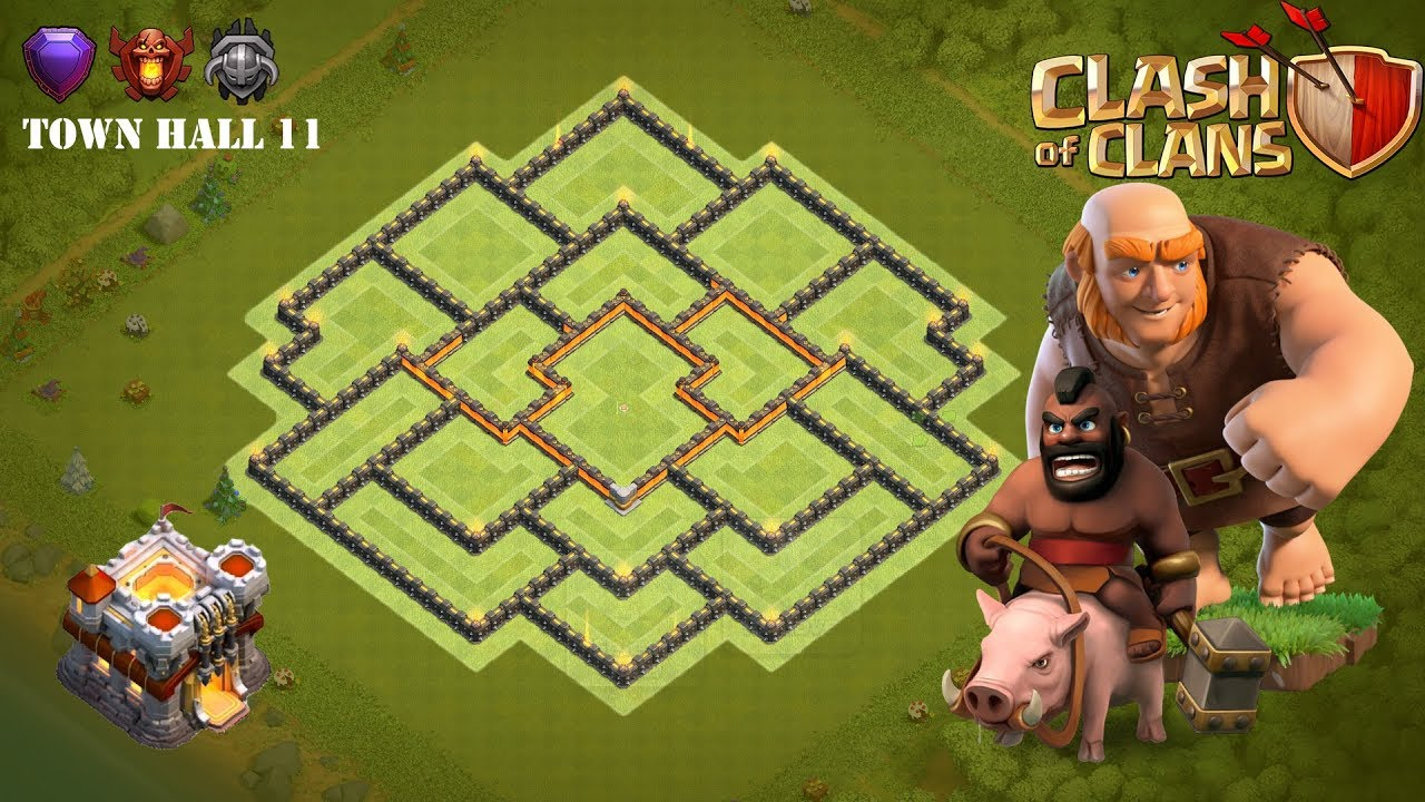 Town Hall 11 Trophy Base September 2019 - Clash of Clans (TH11)