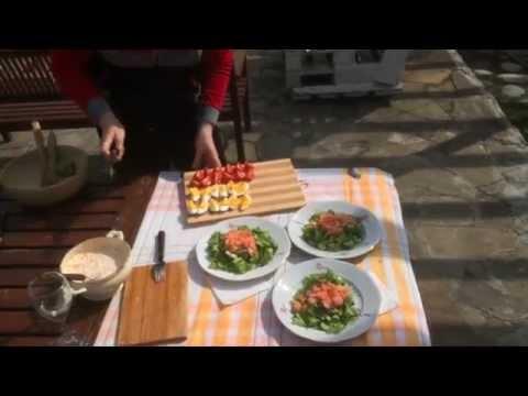 Праздничный салат Владимир