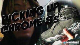 """Picking Up Jordan Chrome 8s """"Easiest Pickup EVER!!"""" (VLOG #50)"""