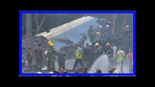 Minuto a Minuto: Accidente aéreo en La Habana - Noticias