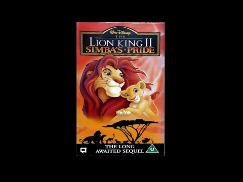 Digitized opening to The Lion King II: Simba's Pride (UK VHS)