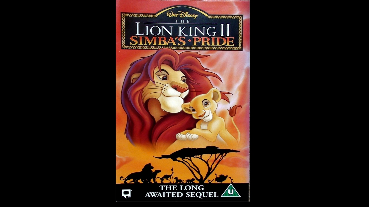 digitized opening to the lion king ii  simba u0026 39 s pride  uk