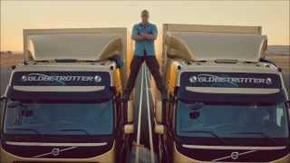 VAN DAMME - Real split between two trucks (HD) - Complete story
