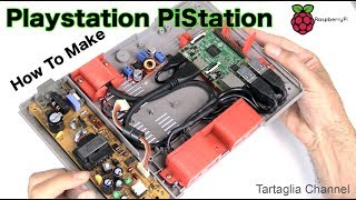 PiStation - Tutte le retro console dentro una Playstation??   Raspberry e retropie