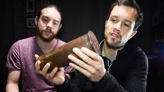 On a retrouvé des objets des 1ère et 2nd guerres mondiales dans nos cartons