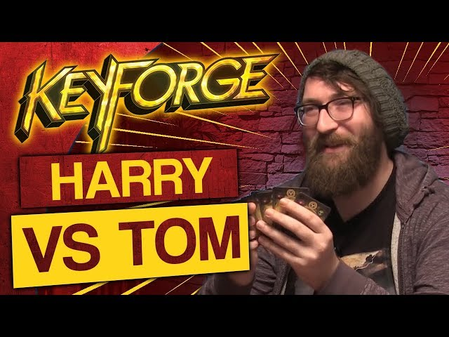 KeyForge: Match #2 - Harry vs Tom