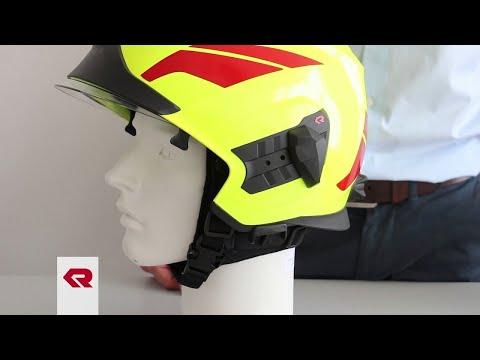 Rosenbauer Firefigthing helmet HEROS-titan - Universal adapter