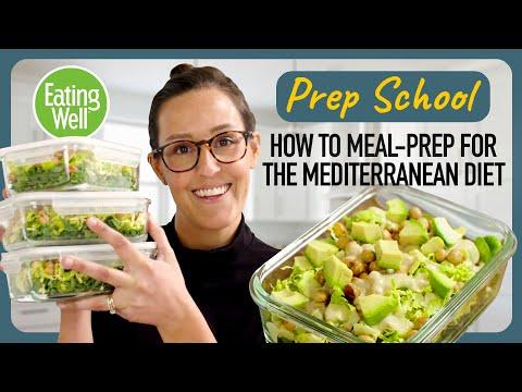 Mediterranean Meal Plan | Easy & Healthy Homemade Dressing | Prep School