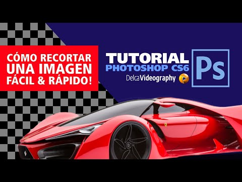 Recorte Perfecto de Imagen en Adobe Photoshop CS6   Español