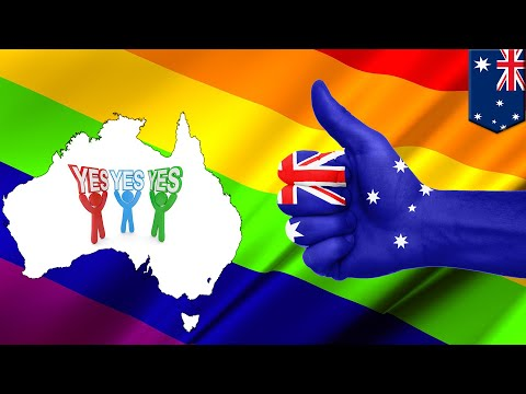 Australia marriage vote: Aussies say yes to marriage equality. Kinda. - TomoNews